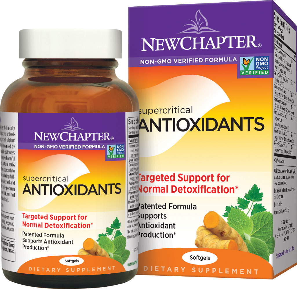 Supercritical Antioxidants by New Chapter