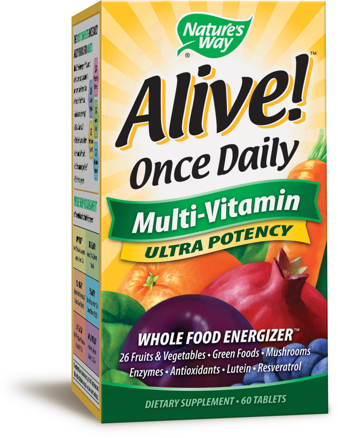 Alive! Once Daily Multi-Vitamin by Nature's Way