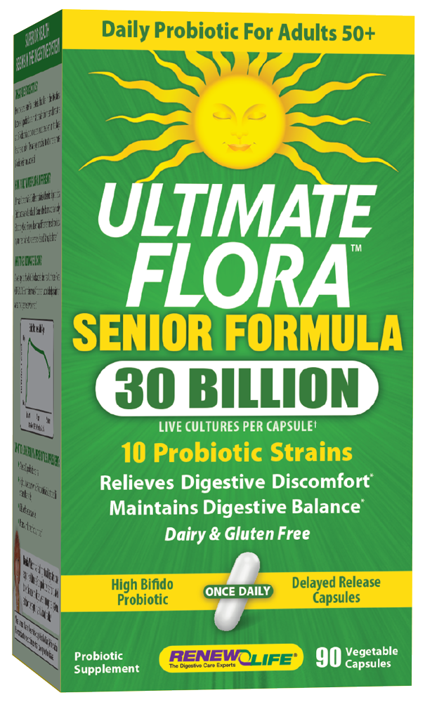 Ultimate Flora Senior Formula 30 Billion by ReNew Life