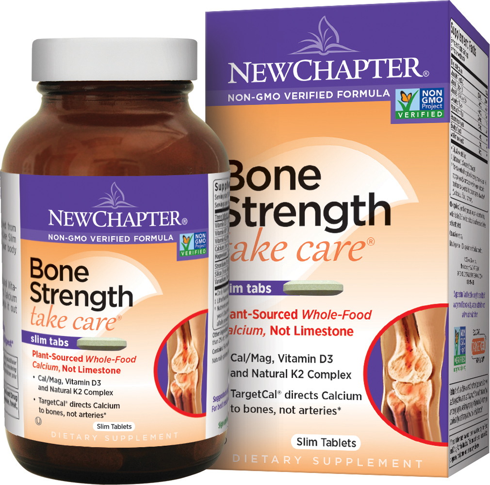 Bone Strength Take Care by New Chapter