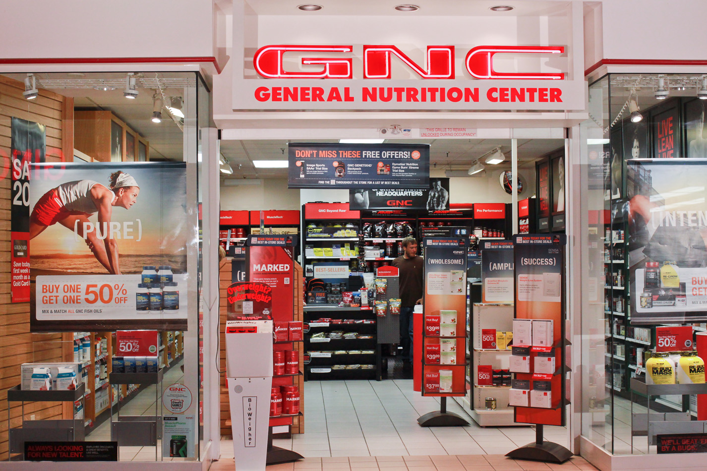 Watch video · GNC operates small but ubiquitous locations, with 3, stores in the U.S. and Canada, along with franchise stores and small areas within many .