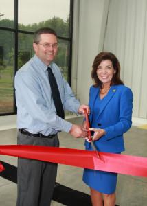 Bob Gelser & Lieutenant Governor Kathy Hochul