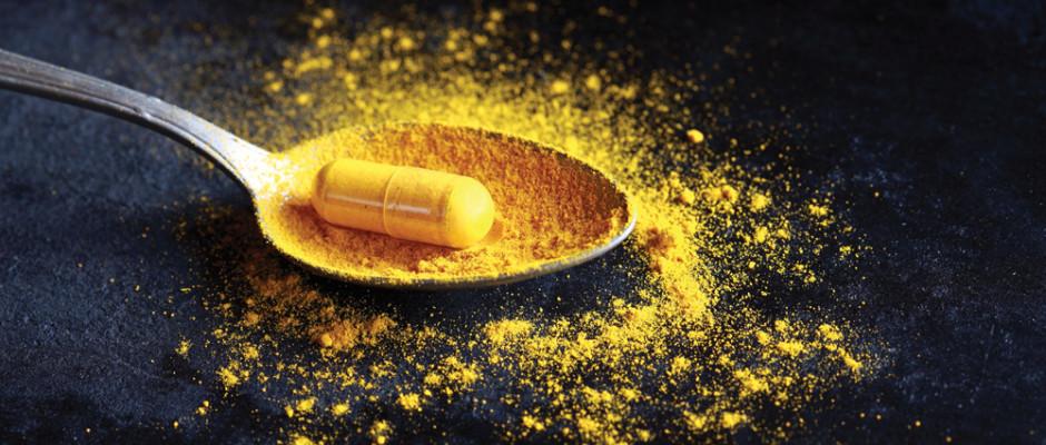 Curcumin pill