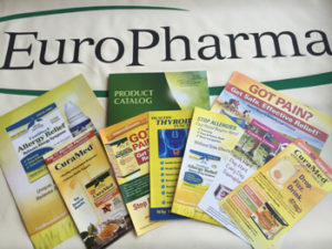 EuroPharma literature photo for award
