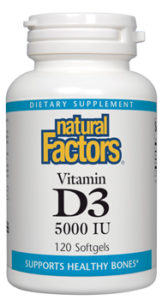 Natural Factors Vitamin D3