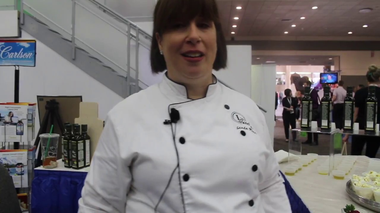 Expo East 2017: Chef Linda Rubin & Carlson Labs