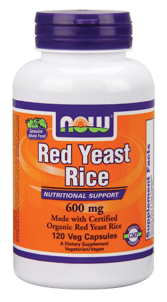 Red Yeast Rice by NOW Foods