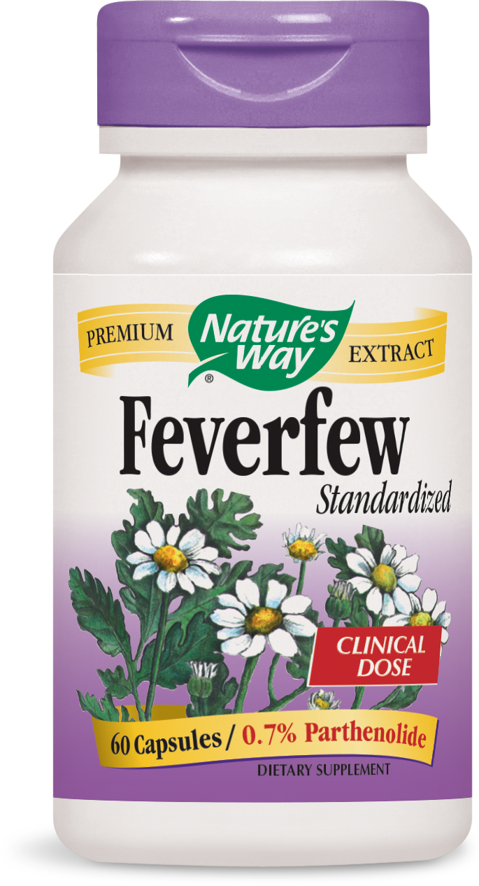 Feverfew Standardized Extract by Nature's Way