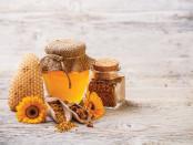 Bee honey & pollen