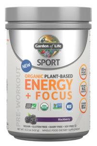 Garden of Life SPORT Energy & Focus