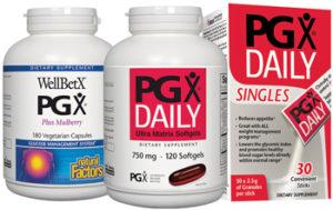 Natural Factors PGX group shot