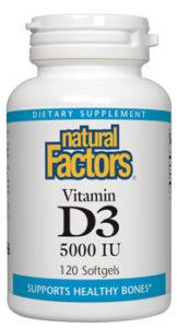Natural Factors Vitamin D3